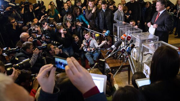 This parliament is certainly going to be less democratic, less free and more irresponsibly extreme than any parliament the Ukrainian people has elected since the collapse of the Soviet Union, veteran US foreign correspondent noted - Sputnik International